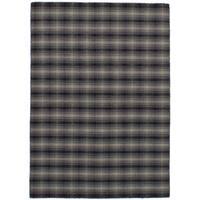 eCarpetGallery Flatweave Manhattan Grey Wool Kilim Rug