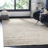 Safavieh Hand-Woven Vintage Leather Beige Leather Rug - 6' Square