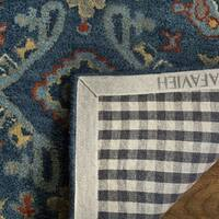 Safavieh Handmade Heritage Blue/ Multi Wool Rug (8' x 10') - 8' x 10'