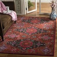 Safavieh Handmade Heritage Rust/ Multi Wool Rug - 8' x 10'