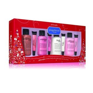 Philosophy 8-piece Gingerbread House Holiday Gift Set