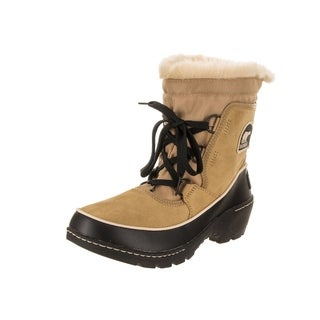 Sorel Women's Tivoli III Beige and Black Suede and Textile Insulated Boots (4 options available)