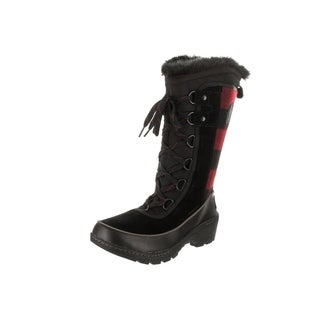 Sorel Women's Tivoli III Black Suede High Boots