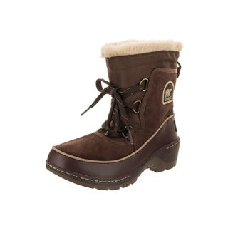 Sorel Women's Tivoli III Brown Suede Leather/Textile Boot