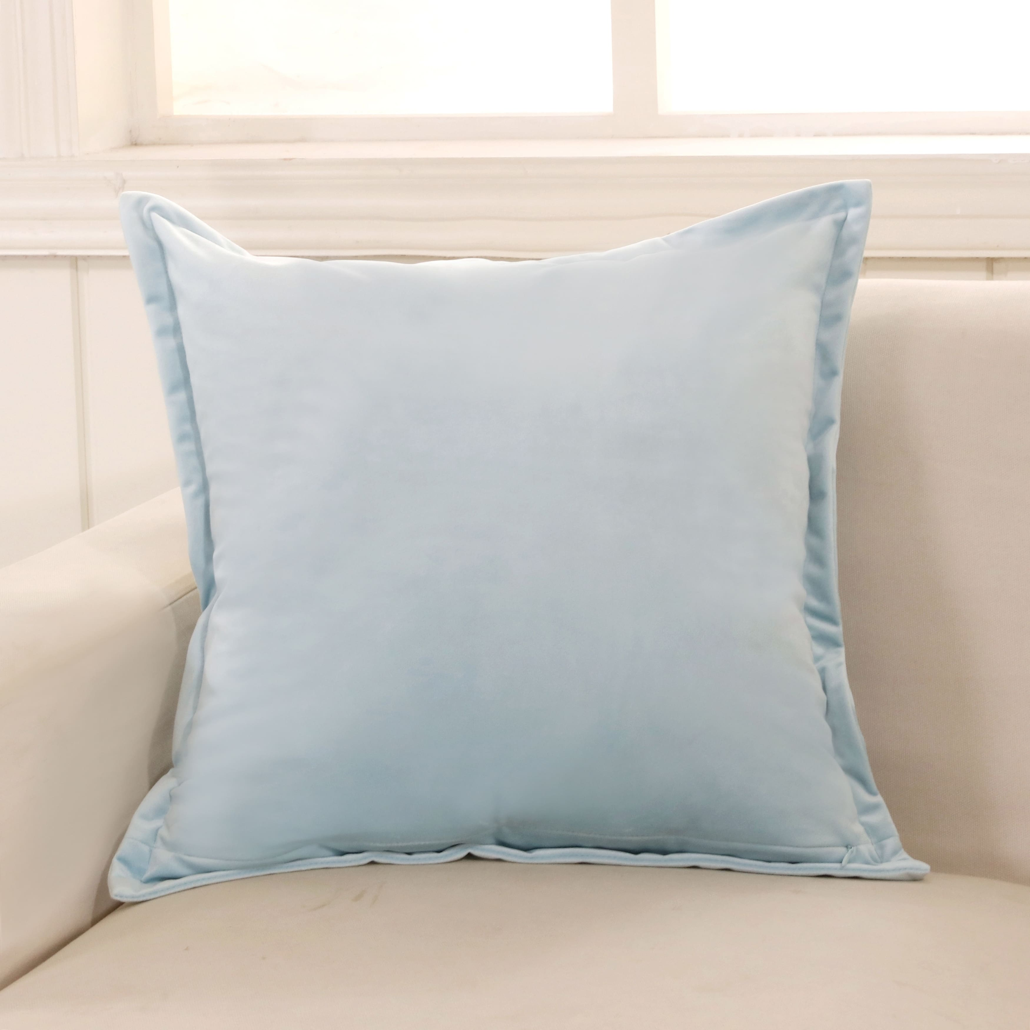 Baby Blue Decorative Pillow : Throw Pillows For Less Overstock.com