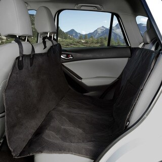 Pet Seat Cover Car Protector- Bench Hammock Backseat Liner for Car/Truck/SUV (X-Large) by PETMAKER