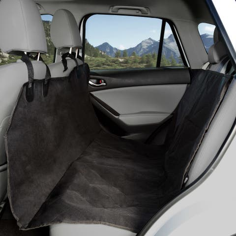 Pet Seat Cover Car Protector- Bench Hammock Backseat Liner for Car/Truck/SUV by PETMAKER