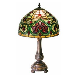 Tiffany-style Decorative Table Lamp