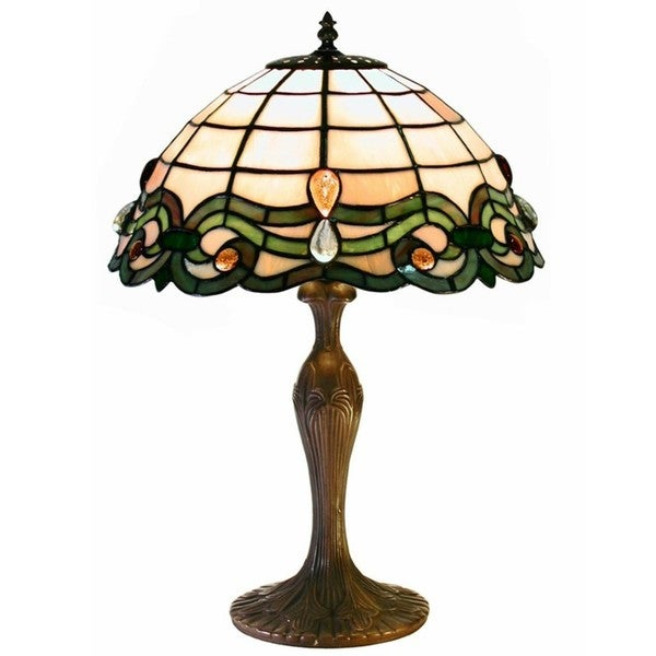 hsn dale lamp tiffany peacock table royal d style lighting shop