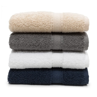 Link to Authentic Hotel Spa Turkish Cotton Washcloth (Set of 6) Similar Items in Towels