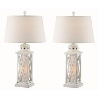 "Seahaven Galveston Island Lantern Night Light Table Lamp 30.5"" high"