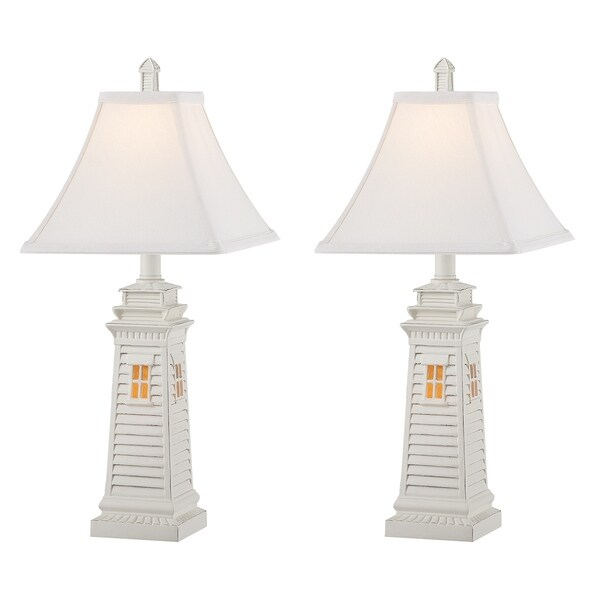 Seahaven accent shutter lighthouse night light table lamp 235 high seahaven accent shutter lighthouse night light table lamp 235 high aloadofball Choice Image