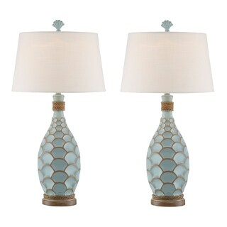 Seahaven Eden Isle Rope Table Lamp (Set of 2)