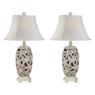 "Seahaven Classic Starfish Night Light Table Lamp 31"" high"