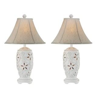 Seahaven Sandollar Night Light Table Lamp (Set of 2)
