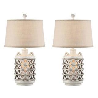 "Seahaven Baldwin Island Lantern Night Light Table Lamp 25.5"" high"