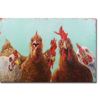 Chicken for Dinner by Lucia Heffernan Gallery-Wrapped Canvas Giclee Art