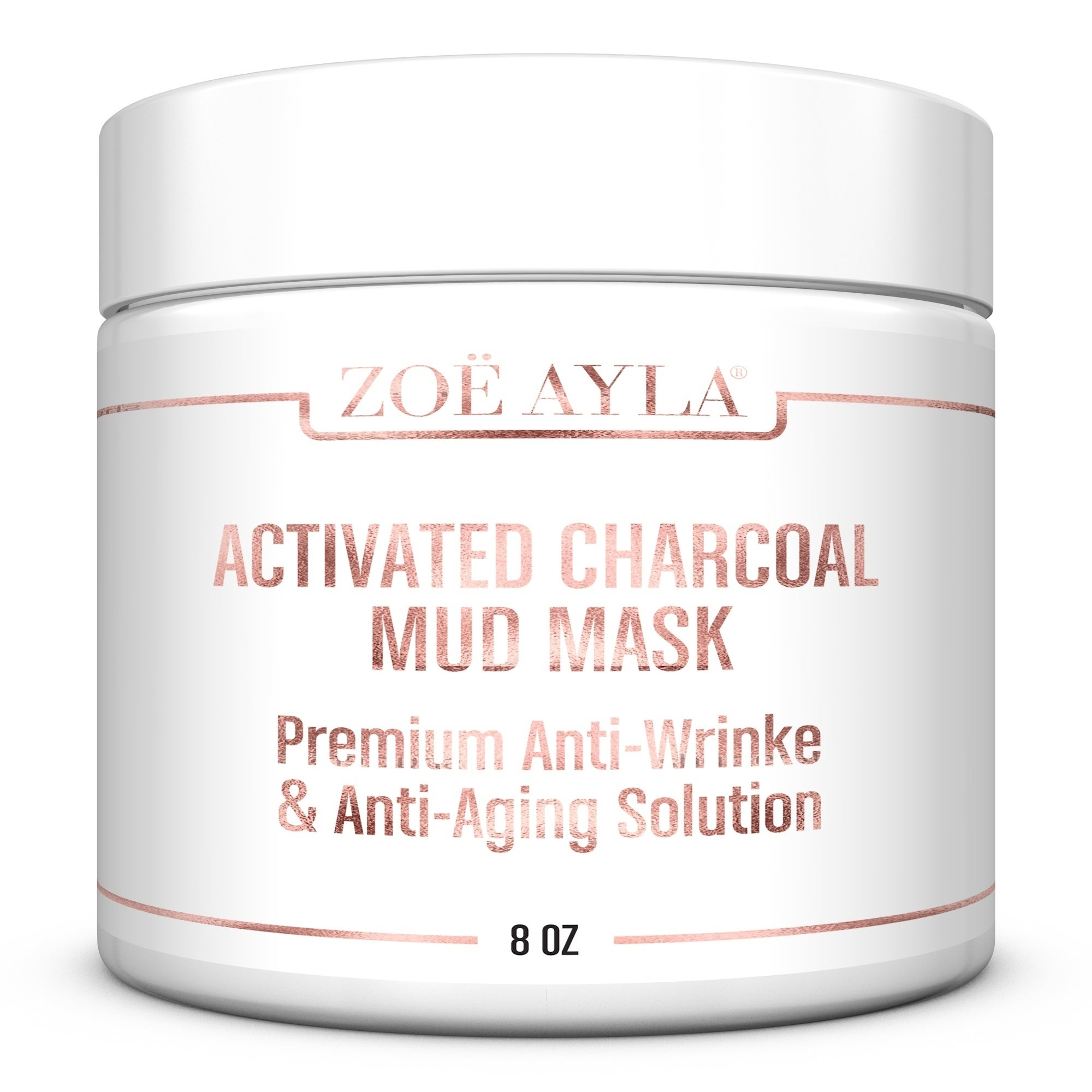 Report Zoe Ayla Activated Charcoal (Grey) Mud Mask