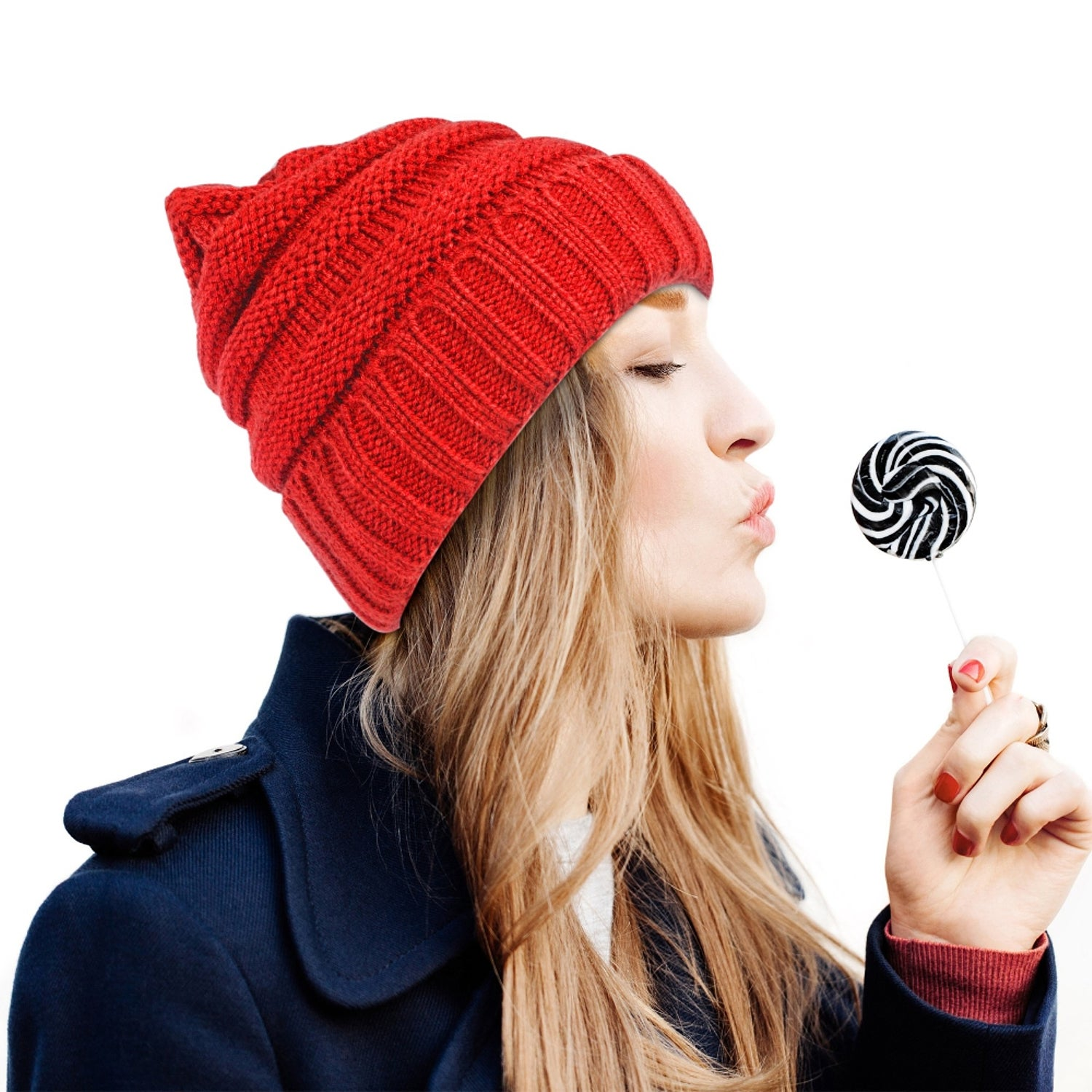 30e833ed Details about Zodaca Unisex Oversized Wavy Cable Knit Slouchy Beanie Knit  Hat Skull Cap for
