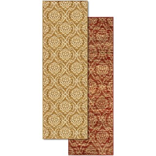Superior Designer Fleur De Lis Area Rug (2'7 x 8') (2 options available)