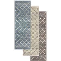 """Superior Designer Lattice Area Rug collection - 2'7"""" x 8'"""