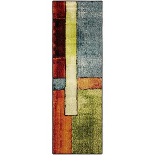 "Superior Designer Lilith Runner Rug Collection - Multi-color - 2'7"" x 8'"