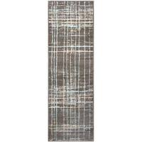 """Superior Designer Painted Stripes Area Rug collection (2'7"""" X 8') - 2'7"""" x 8'"""