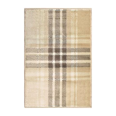 Superior Designer Tartan Area Rug (2' X 3') - 2' x 3'