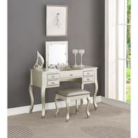 Estelle Chic Beauty Vanity and Stool Set