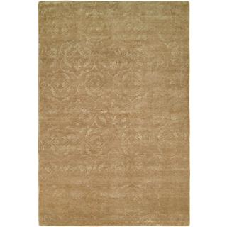 Nirvana Butternut Wool Hand-knotted Area Rug (12' x 15')