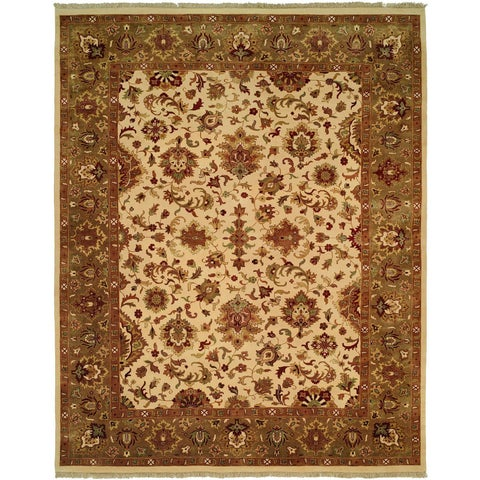 Royale Sage Hand-Knotted Area Rug - 12' x 18'