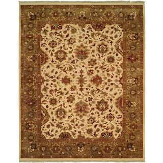 Royale Sage Hand-Knotted Area Rug (12' x 18') - 12' x 18'