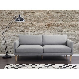 Modern Fabric Sofa Gray UPPSALA