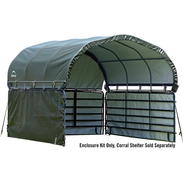 Shop Shelterlogic Corral Shelter Enclosure Kit Ships To Canada