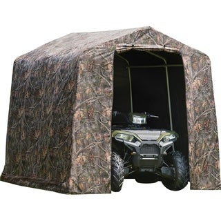 ShelterLogic 8 x 8 Peak Camo Shed in a Box