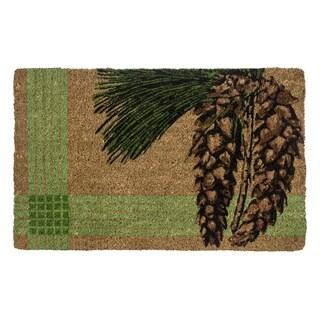 White Pine Handwoven Coconut Fiber Doormat