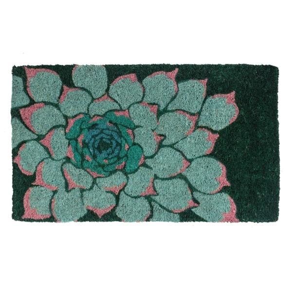Shop Succulent Handwoven Coconut Fiber Doormat Free