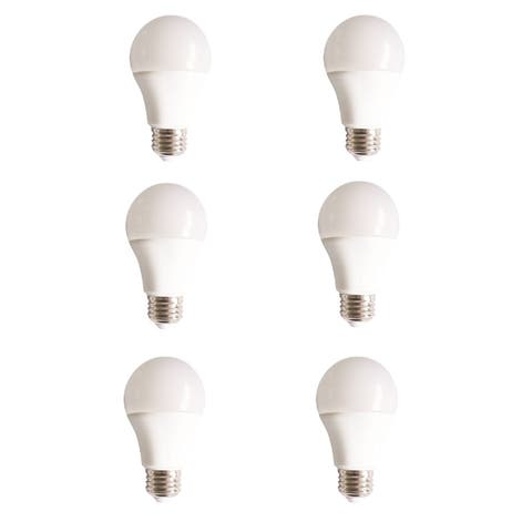Led a19, 5000k, 160°, cri80, ul, 10w, 60w equivalent, 15000hrs, lm800, non-dimmable, input voltage 120v 6 pack