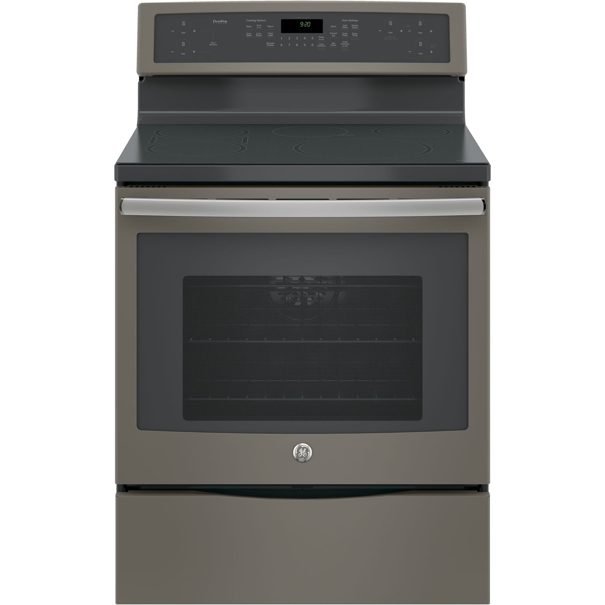 "GE Profile Series 30"" Free-Standing Convection Range with..."