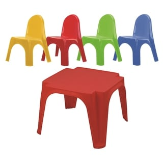 Link to Keren table & Chair Set - Red Similar Items in Outdoor Play