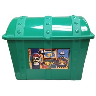 Treasure Chest-Green - Green