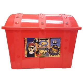 Treasure Chest-Red - Red
