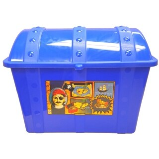 Treasure Chest-Blue - Blue