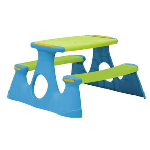 Picnic Bench and Table - Green