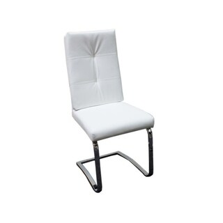 Best Master Furniture X894 White Side Chairs (Set of 2)