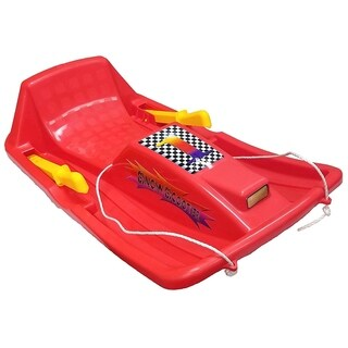 Snow Sled-Red - Red