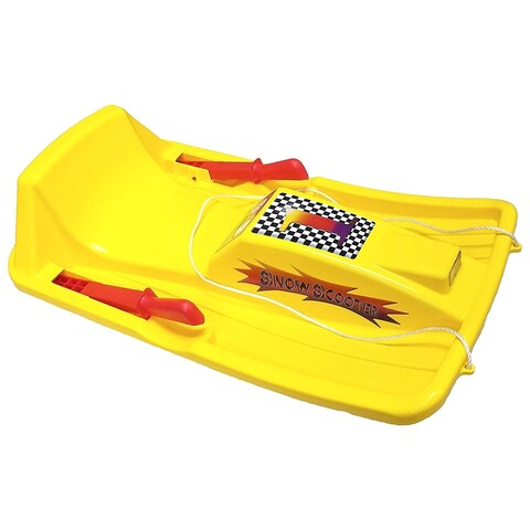 Snow Sled-Yellow - Yellow