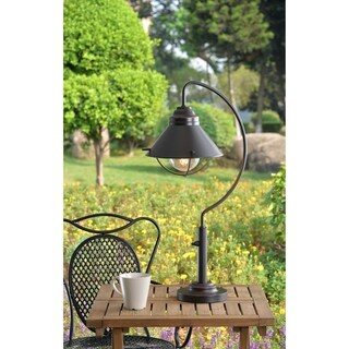 Havenside Home San Clemente Oil Rubbed Bronze Outdoor Table Lamp