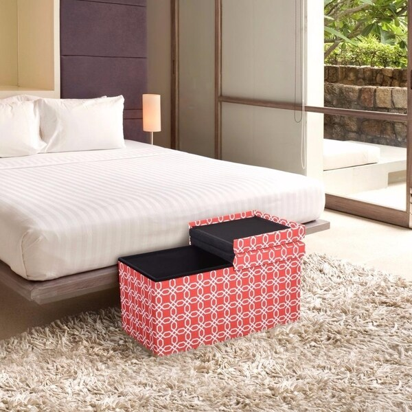 Shop Storage Ottoman Bench 30 Inch Crown Comfort Smart Lift Top