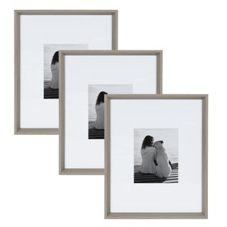 Kate and Laurel Calter 3-Piece Matted Wall Picture Frame Set